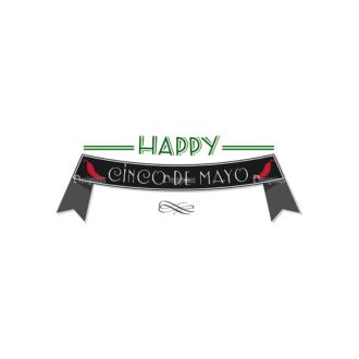 Cinco De Mayo Vector Elements Vector Happy Cinco 10 Clip Art - SVG & PNG vector