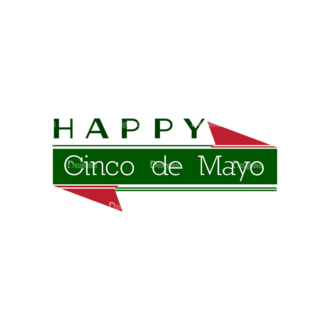 Cinco De Mayo Vector Elements Vector Happy Cinco 16 Clip Art - SVG & PNG vector