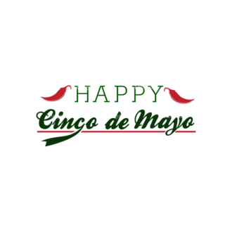 Cinco De Mayo Vector Elements Vector Happy Cinco 19 Clip Art - SVG & PNG vector