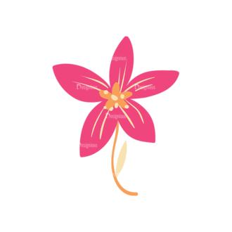 Colored Floral Decorations Set 25 Vector Flower 09 Clip Art - SVG & PNG floral