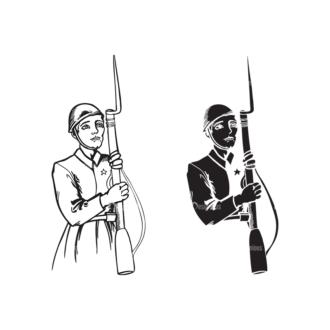 Communism Vector 1 17 Clip Art - SVG & PNG vector