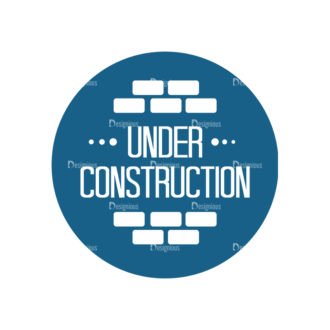 Construction Elements Vector Signage 02 Clip Art - SVG & PNG construction