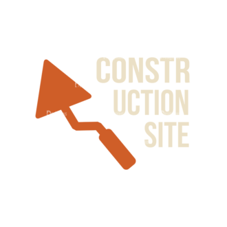 Construction Elements Vector Signage 03 Clip Art - SVG & PNG construction