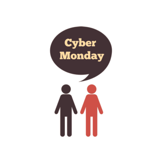 Cyber Monday Typography Vector Set 2 Vector  04 Clip Art - SVG & PNG vector