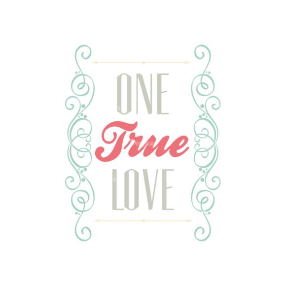 Decorative Valentines Day Vector Set 5 Vector One True Love decorative valentines day vector set 5 vector One true love