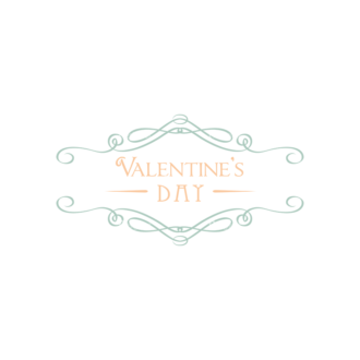 Decorative Valentines Day Vector Set 5 Vector Valentines Day Clip Art - SVG & PNG vector