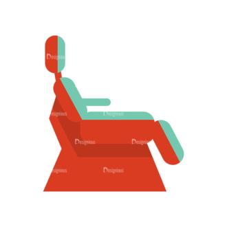 Dentist Vector Chair Clip Art - SVG & PNG vector