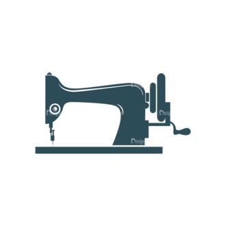 Designtnt Tailor Labels Vector Set 3 Vector Sewing Machine Clip Art - SVG & PNG vector