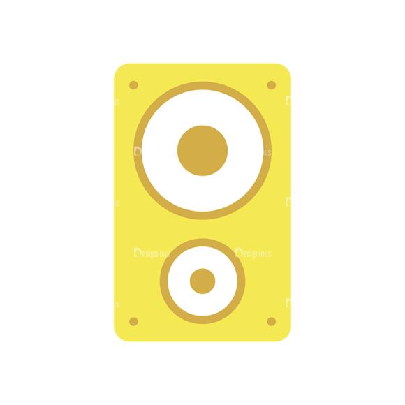 Disc Jockey Vector Speaker 1