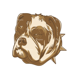 Dogs Vector 1 7 Clip Art - SVG & PNG vector