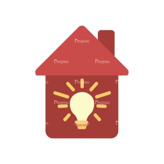 Electrician Vector House Clip Art - SVG & PNG vector