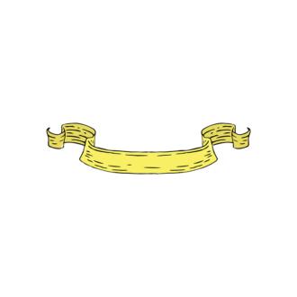 Engraved Decorative Valentines Vector Set 1 Vector Ribbon Clip Art - SVG & PNG vector