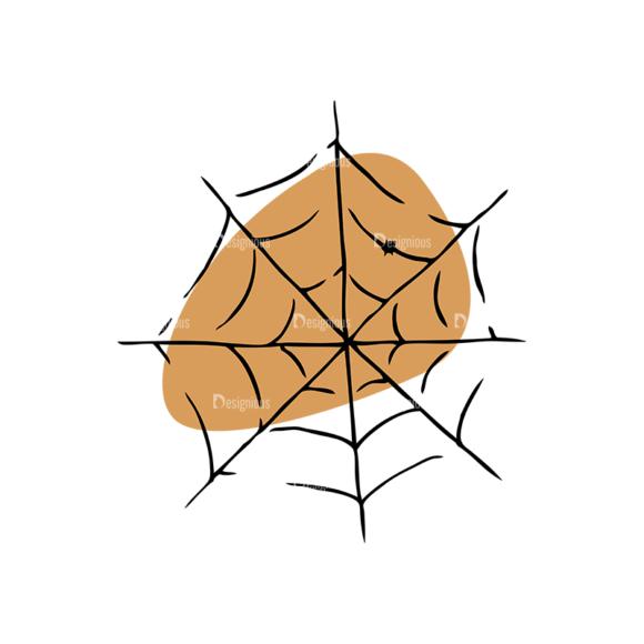 Engraved Halloween Vector Set 1 Vector Spiderweb Clip Art - SVG & PNG vector
