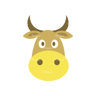 Farmer Vector Cow Clip Art - SVG & PNG vector