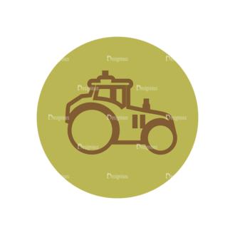 Farming Fresh Labels Set 2 Vector Car 09 Clip Art - SVG & PNG vector