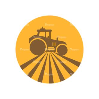 Farming Fresh Labels Set 2 Vector Car 11 Clip Art - SVG & PNG vector