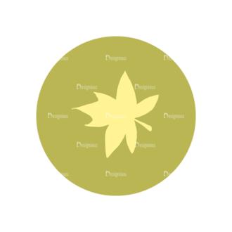 Farming Fresh Labels Set 2 Vector Leaf 09 Clip Art - SVG & PNG leaf