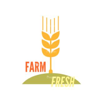 Farming Fresh Labels Set 2 Vector Text 21 Clip Art - SVG & PNG vector