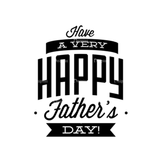 Father S Day Typography 1 Vector Expanded Text 01 Clip Art - SVG & PNG vector