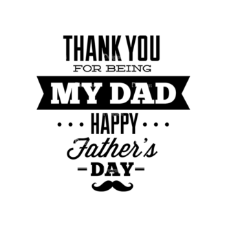 Father S Day Typography 1 Vector Expanded Text 04 Clip Art - SVG & PNG vector