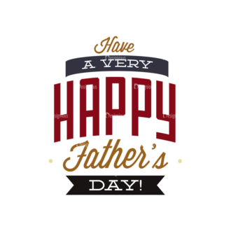 Father S Day Typography 1 Vector Expanded Text 07 Clip Art - SVG & PNG vector