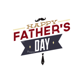 Father S Day Typography 1 Vector Expanded Text 08 Clip Art - SVG & PNG vector
