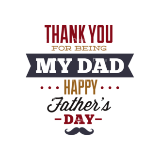 Father S Day Typography 1 Vector Expanded Text 09 Clip Art - SVG & PNG vector