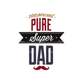 Father S Day Typography 1 Vector Expanded Text 12 Clip Art - SVG & PNG vector