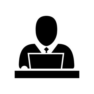 Flat Meeting Icons Set 1 Vector Meeting 06 Clip Art - SVG & PNG vector