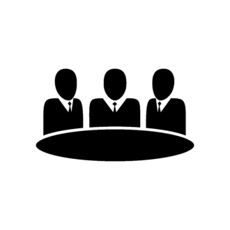 Flat Meeting Icons Set 1 Vector Meeting 10 Clip Art - SVG & PNG vector