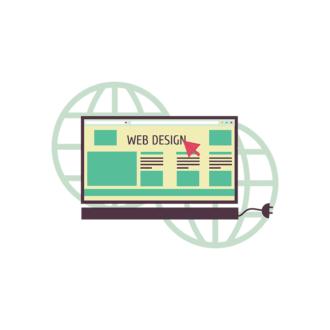 Flat Social Concept Vector Set 1 Vector Web Clip Art - SVG & PNG vector