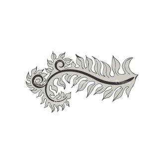 Floral Vector 10 13 Clip Art - SVG & PNG floral