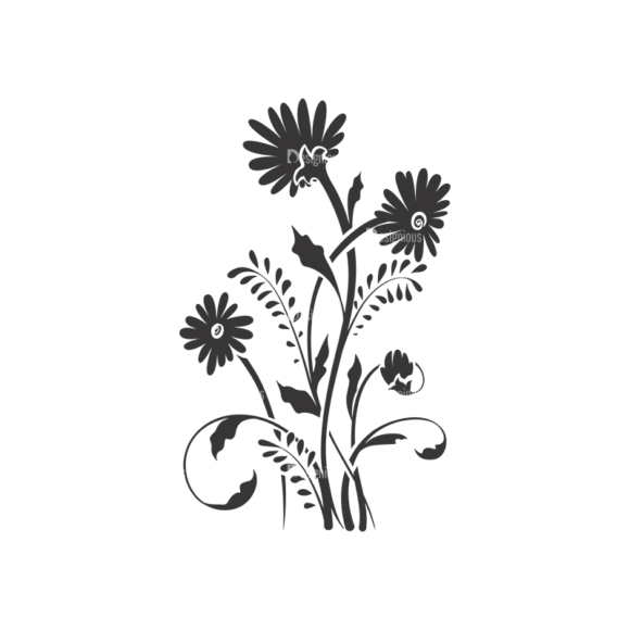 Floral Vector 116 8 5