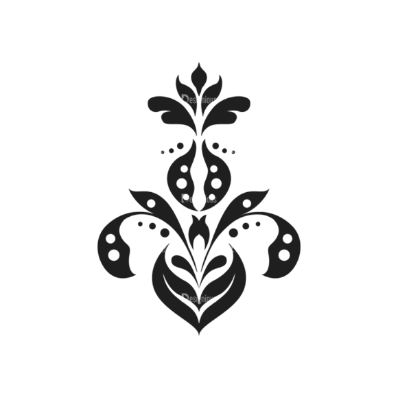 Floral Vector 120 8 5