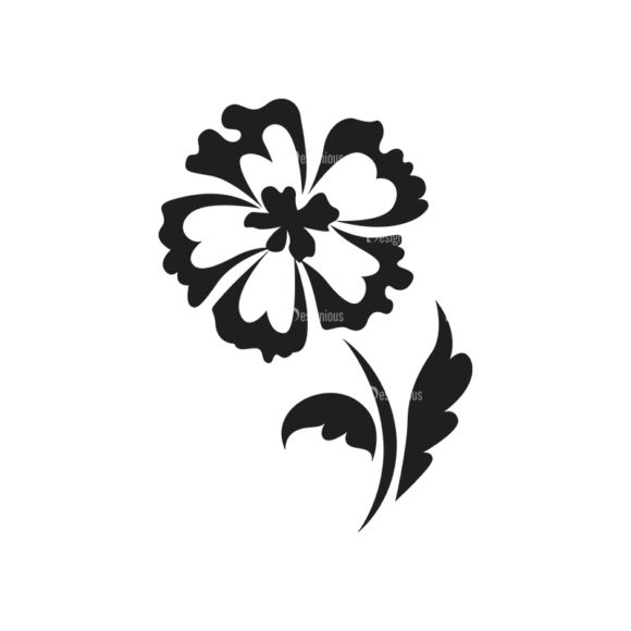 Floral Vector 125 9 5