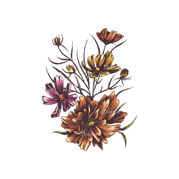 Floral Vector 134 1 5