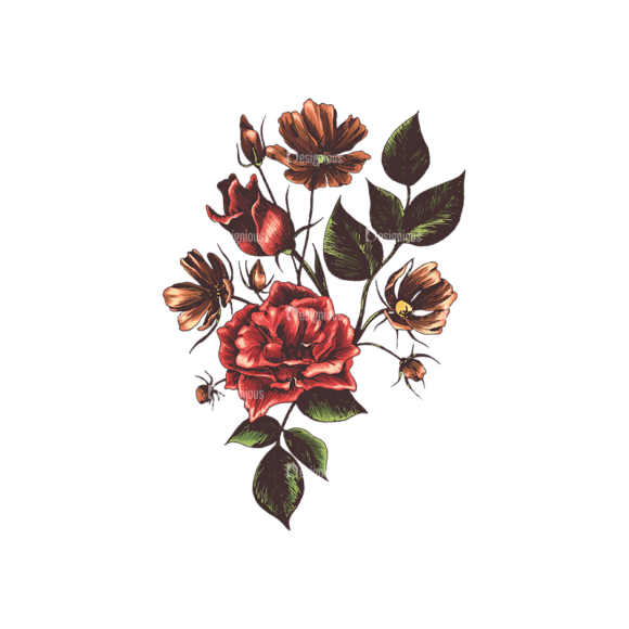 Floral Vector 134 3 5
