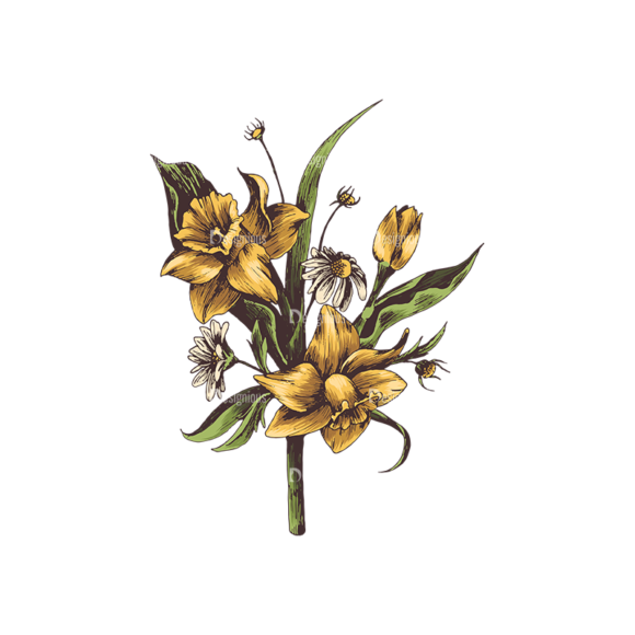 Floral Vector 134 4 5