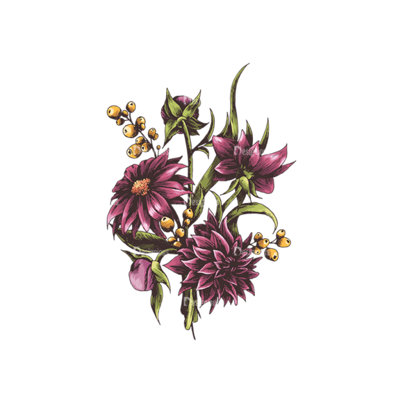 Floral Vector 134 6 5
