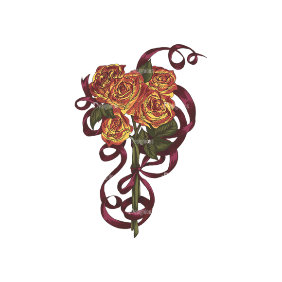 Floral Vector 135 3 5