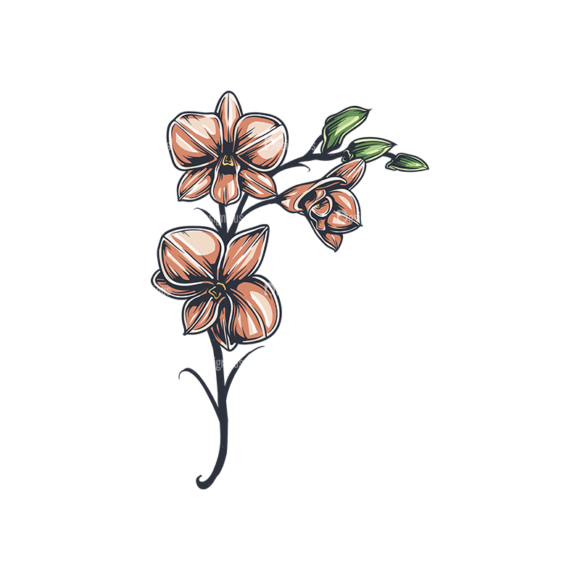 Floral Vector 136 1 5