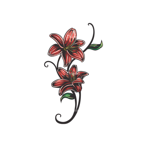 Floral Vector 136 3 5