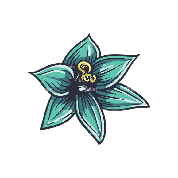 Floral Vector 138 7 floral vector 138 7 preview