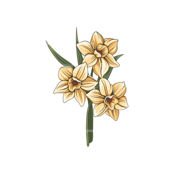 Floral Vector 142 3 5