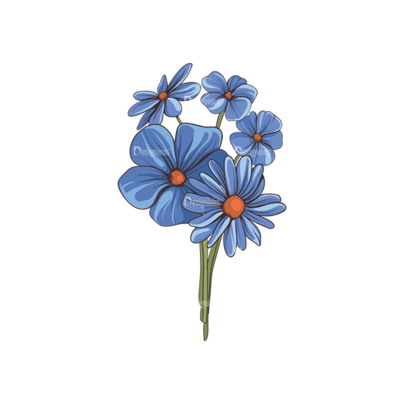 Floral Vector 143 6 5