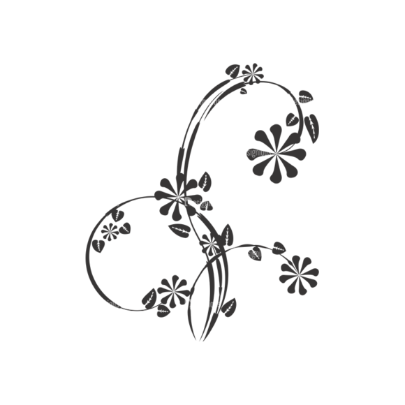 Floral Vector 36 6 1