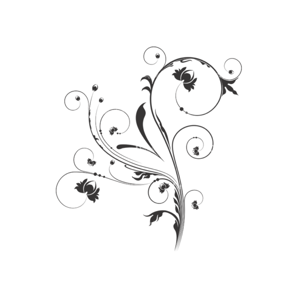 Floral Vector 45 13 1