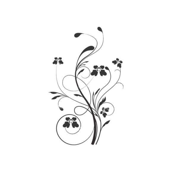 Floral Vector 45 15 1