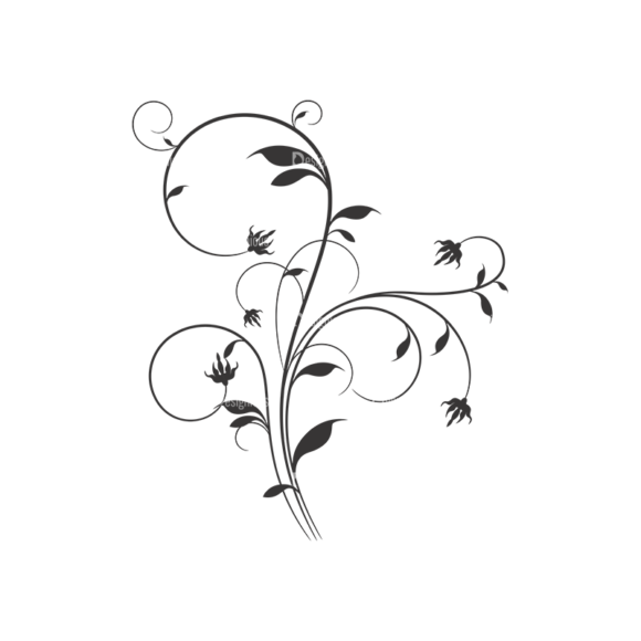Floral Vector 45 4 1