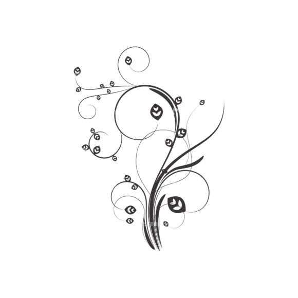 Floral Vector 45 8 1